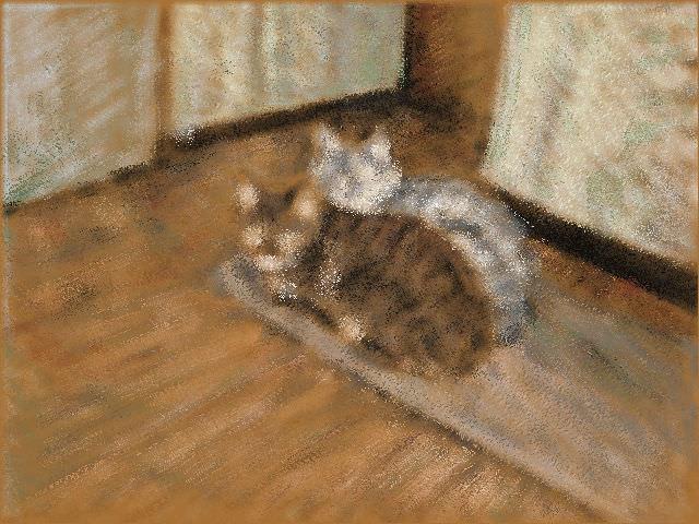 Nintendo 3DS LL_Cat Sketch_20130718.jpg