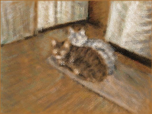 Nintendo 3DS LL_Cat Sketch_20130720.jpg