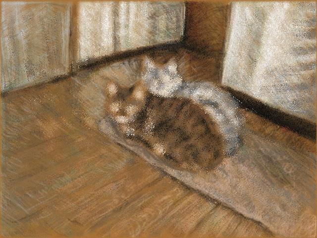 Nintendo 3DS LL_Cat Sketch_20130724.jpg