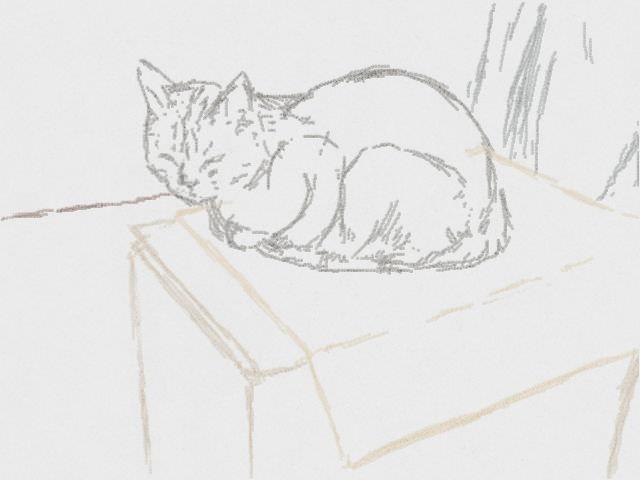 Nintendo 3DS LL_Cat Sketch_20130803.jpg