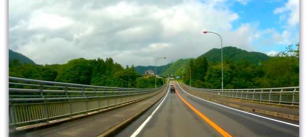 道志みちを山中湖へ! サンバー車載動画 (JVC GC-XA1)