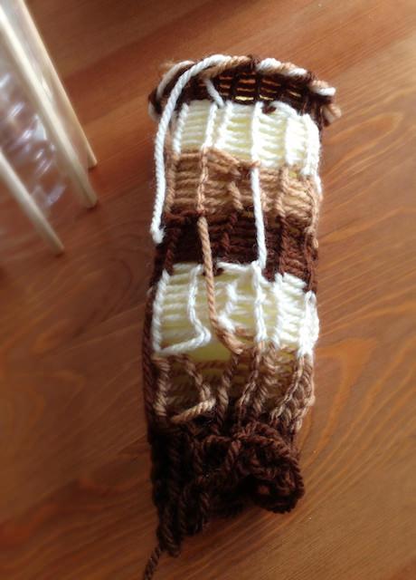 Spool Knitting Stripes Kitchen Sponge_1-6