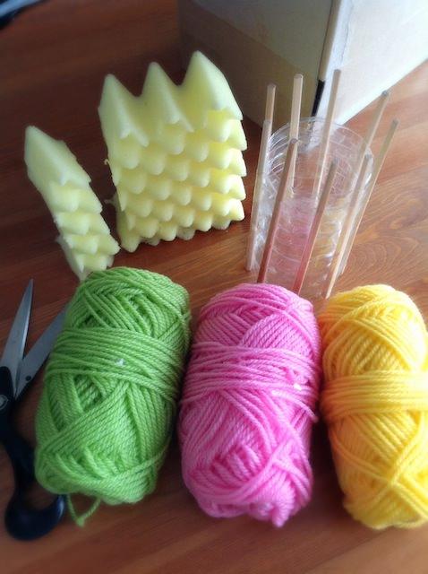 Spool Knitting Stripes Kitchen Sponge_2-2