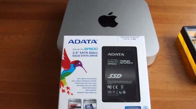 Mac mini(2012)のHDDをSSDに換装のやり方