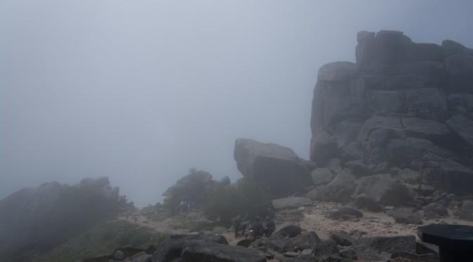 父と息子の金峰山 5(完) 金峰山下山、後はやぶさ温泉(PENTAX K-7+DA18-135,iPhone5s)