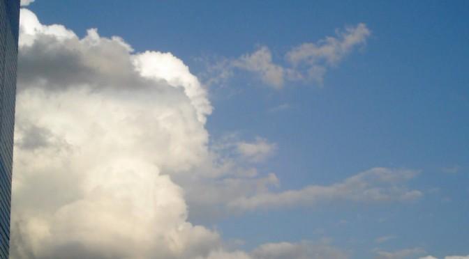 迫る雲に迫る(Polaroid a520)