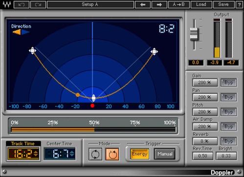 レーシングカー走行音 ドップラー付き(効果音ミニ解説) Race Car with Doppler Sound Effect