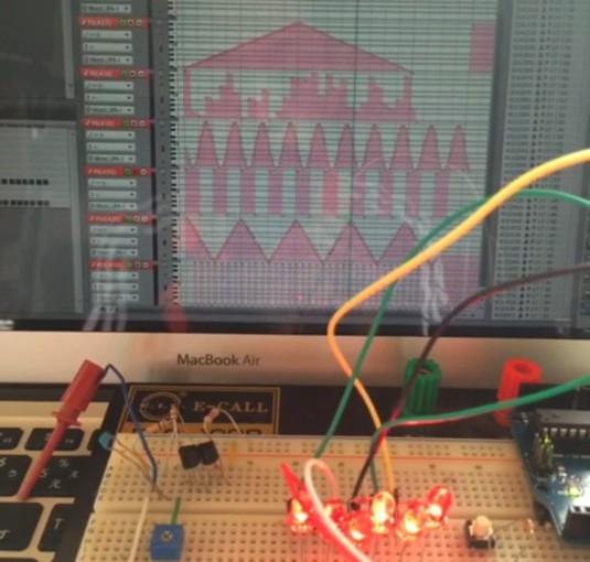 ArduinoでMIDI信号を使って6ポート同時にPWM制御せよ!