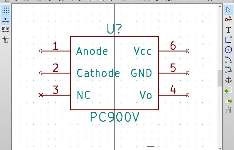 KiCadで設計 MIDI Shield その2