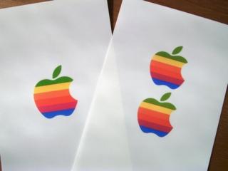 アイボリーのFire Kingに虹色林檎でOld Mac2