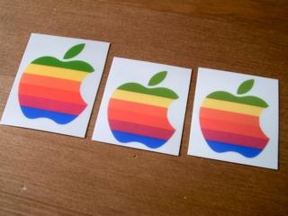 アイボリーのFire Kingに虹色林檎でOld Mac3