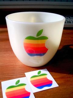 アイボリーのFire Kingに虹色林檎でOld Mac5